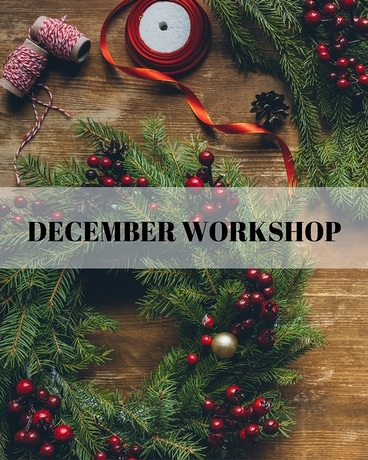 December Workshop in Ft. Collins CO, Palmer Flowers