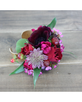 Corsage flowers for prom dance palmer flowers marsala mightylinksfo