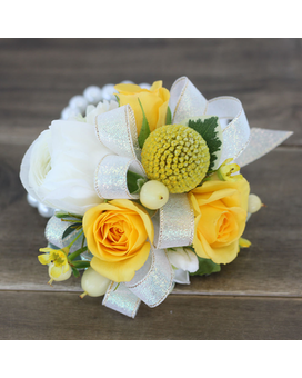 Lemon Meringue Corsage