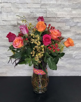 Dazzle Flower Arrangement