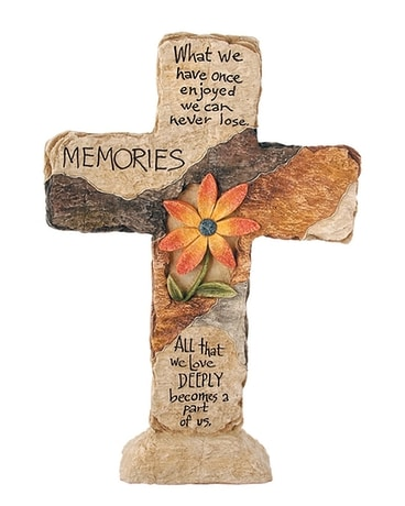 Earthstone Cross - Memories Gifts