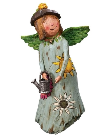 Courage Grows Garden Angel Custom product
