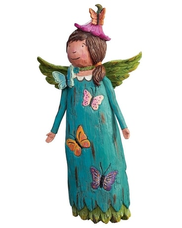Faith Will See You Through Garden Angel Custom product