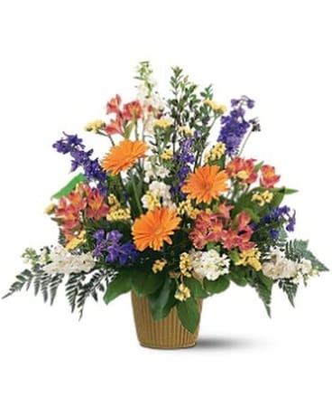 Bright Messages - by Toni's Flowers & Gifts Flower Arrangement ...