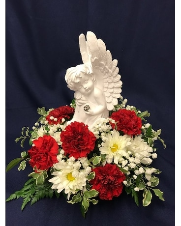 Lovely Angel Arrangement Flower Arrangement