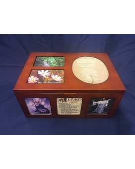 Memory Box Flower Arrangement