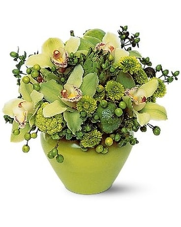 Shades of Green Flower Arrangement