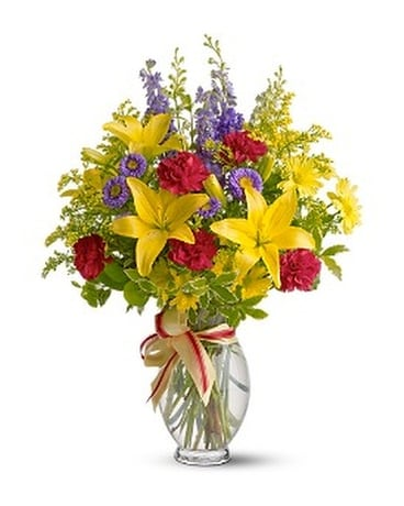 Sunny Side Flower Arrangement