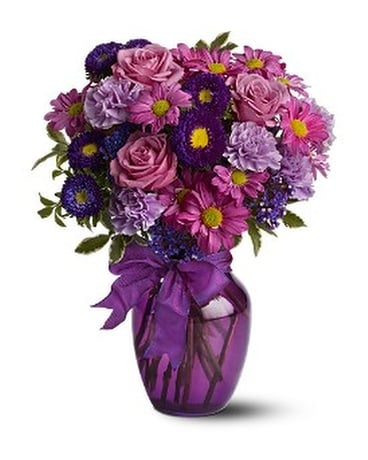 Everlasting Lavender Flower Arrangement
