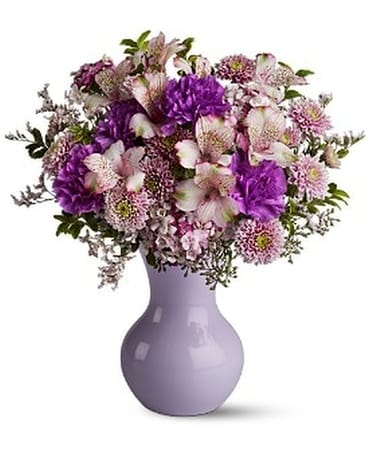 Lavender Love Flower Arrangement