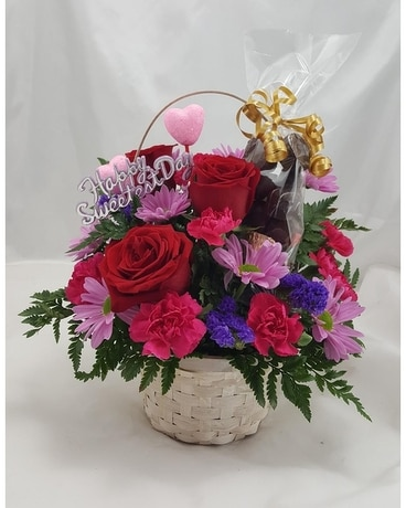 Sweetest Day Special Flower Arrangement