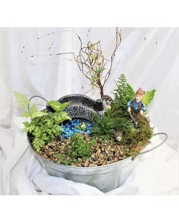 over the bridge fairy garden Plant