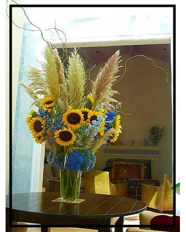 Summer Sunflowers Wedding Arrangement