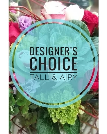 Designer's Favorite Tall and Airy Flower Arrangement
