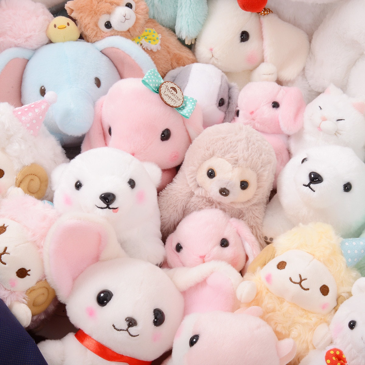 Teddy bear and plushes