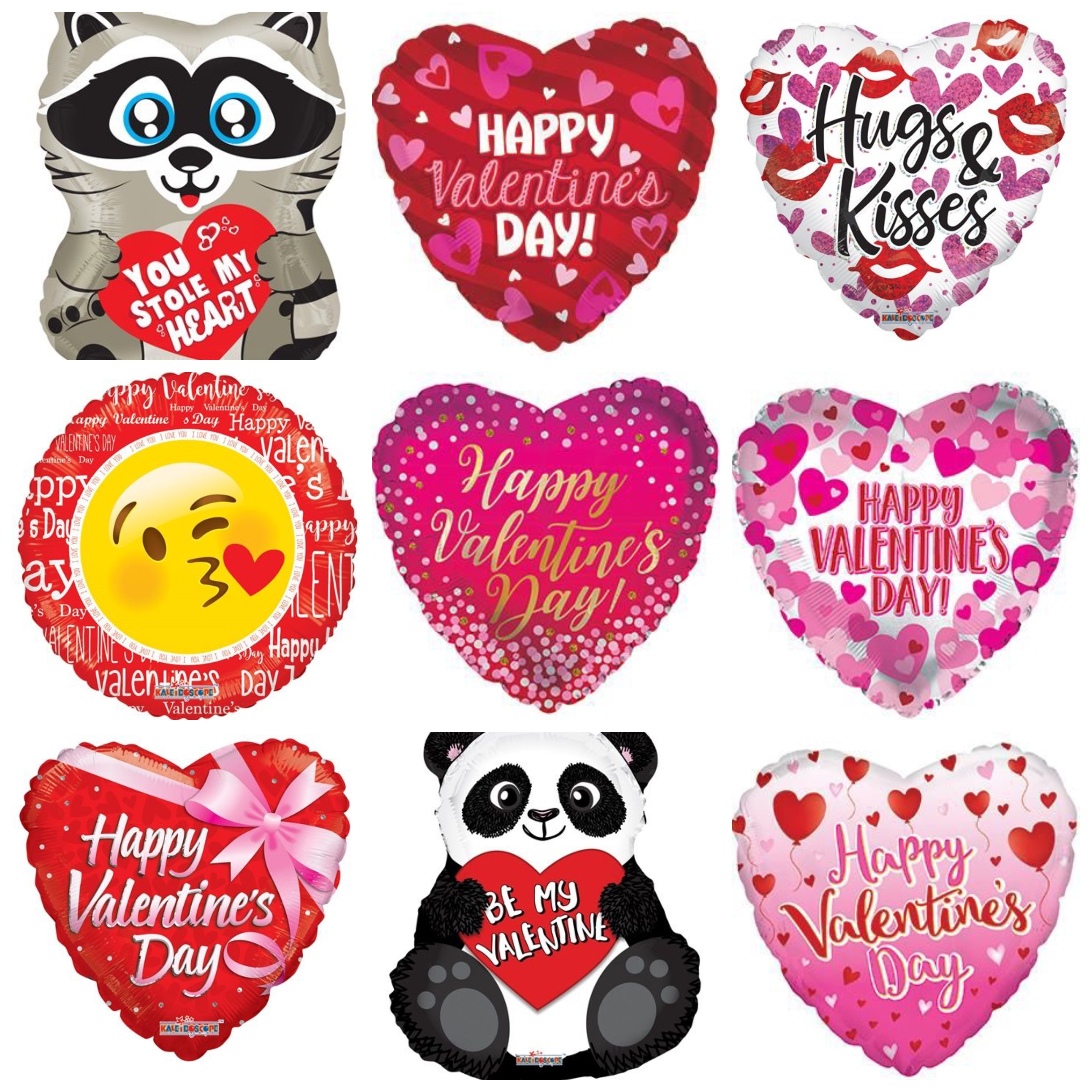 Valentine's Day Assorted Balloons