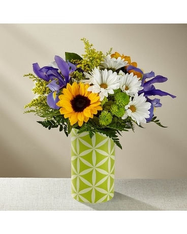 The FTD® Sunflower Sweetness™ Bouquet-VASE INCLUDE Flower Arrangement