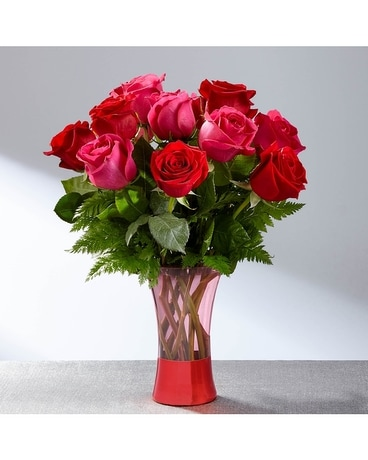 The FTD® Art of Love™ Rose Bouquet Flower Arrangement