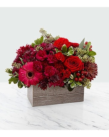 The FTD Rustic™ Bouquet Flower Arrangement
