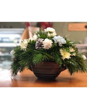 KPF Winter Centerpiece Flower Arrangement