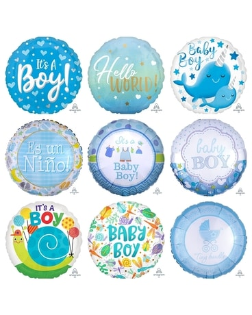 It's a Boy Balloon Bouquet Gifts