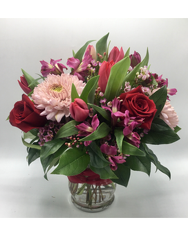 Valentine's Day Designer Choice Flower Arrangement