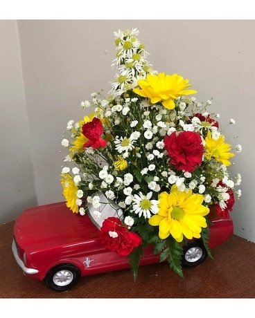 Sunset Drive Flower Arrangement