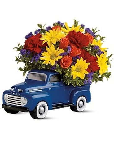 '48 Ford Pickup Flower Arrangement