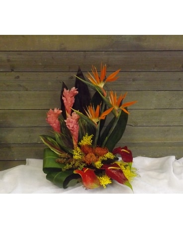 Rainforest Flower Arrangement