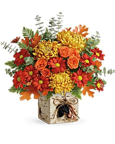 Teleflora's Wild Autumn Bouquet Flower Arrangement