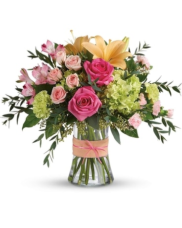 Blush Life Flower Arrangement