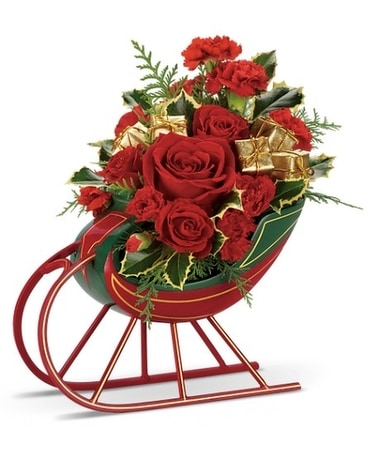 Teleflora's Sleigh Ride Bouquet
