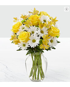 The Sunny Sentiments™ Bouquet by FTD Flower Arrangement