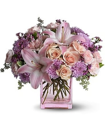 Teleflora's Possibly Pink Custom product