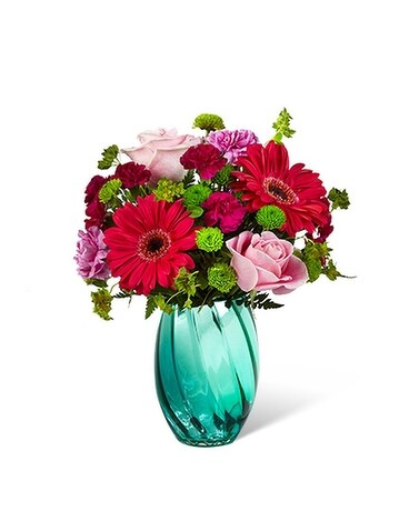 The FTD Spring Skies Bouquet Flower Arrangement