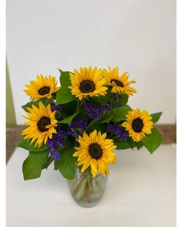 HAPPY SUNFLOWERS Flower Arrangement