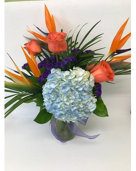 TROPICAL BREEZE Flower Arrangement