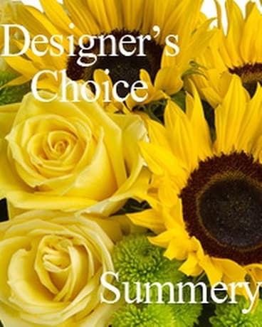 Designer's Choice Summery Flower Arrangement