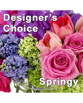Designer's Choice Springy Flower Arrangement