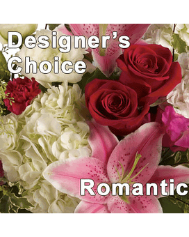 Designer Choice Romance Flower Arrangement