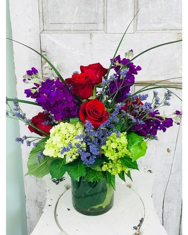 Colored Royal Bouquet Flower Arrangement