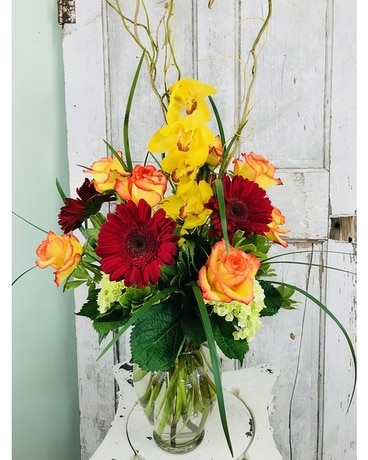 Tropical Fusion Flower Arrangement