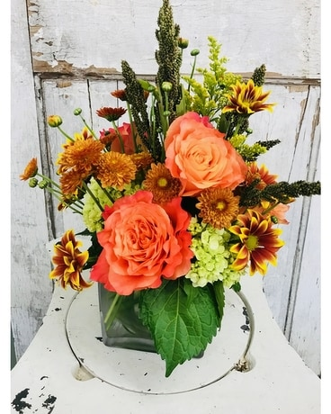 Autumn Romance Flower Arrangement