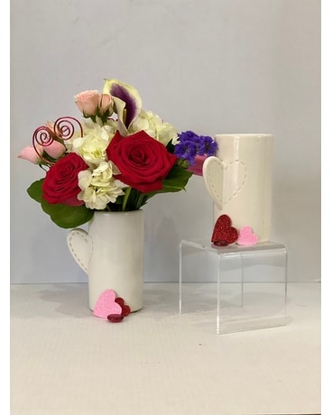 Love Stitch Flower Arrangement
