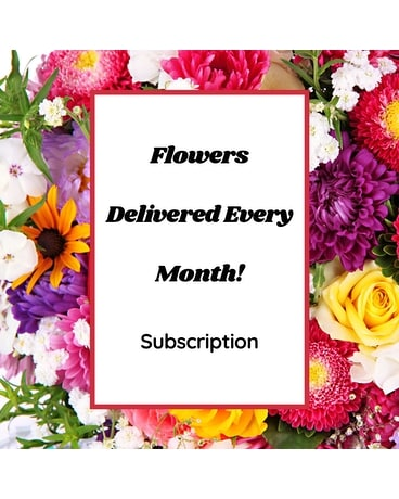 Flower Subscription Flower Arrangement
