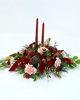 Spiced Wine Flower Arrangement