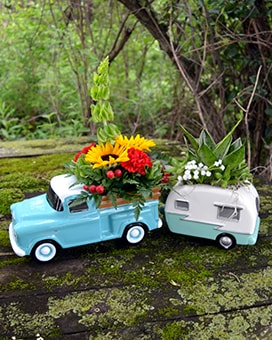 Open Road Flower Arrangement