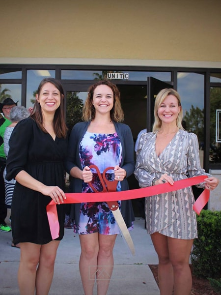 Ribbon Cutting for Simply Roses