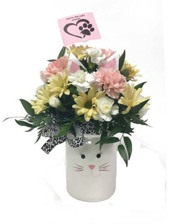 Smitten Kitten Flower Arrangement