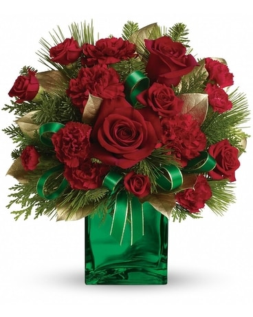 Yuletide Spirit Flower Arrangement